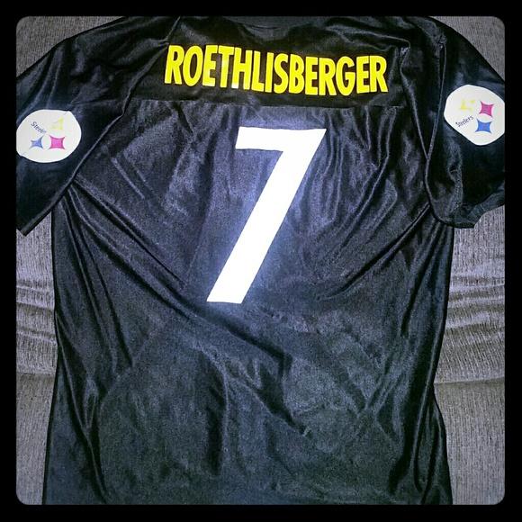 best website d6029 d0470 Ben Roethlisberger Steelers Jersey